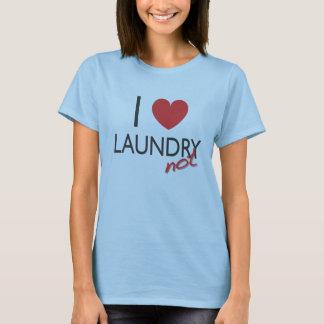 T-shirt I blanchisserie de coeur PAS