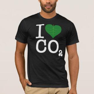 T-shirt I CO2 de coeur