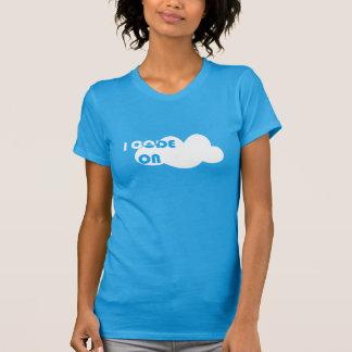 T-shirt I_Code_On_Cloud