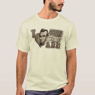 T-shirt I coeur Abe Lincoln