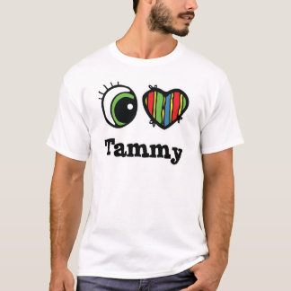 T-shirt I coeur (amour) Tammy
