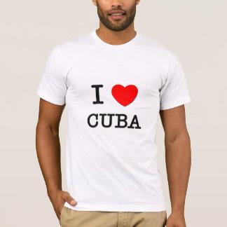 T-SHIRT I COEUR CUBA