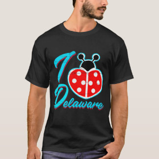 T-shirt I coeur Delaware
