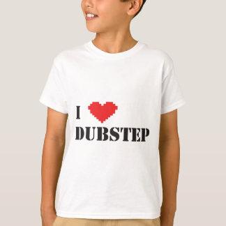 T-shirt i coeur Dubstep