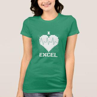 T-shirt I coeur Excel