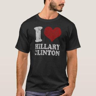 T-shirt I coeur Hillary Clinton