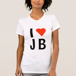 T-shirt I coeur JB