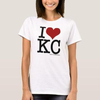 T-shirt I coeur kc
