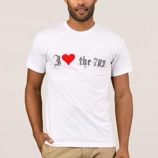 T-shirt I (coeur) les 703
