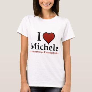T-shirt I coeur Michele Bachmann
