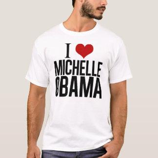 T-shirt I coeur Michelle Obama