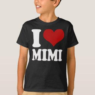 T-shirt I coeur Mimi