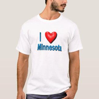 T-shirt I coeur Minnesota
