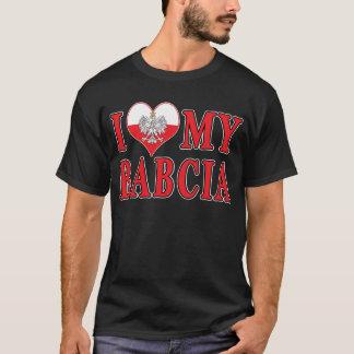 T-shirt I coeur mon Babcia