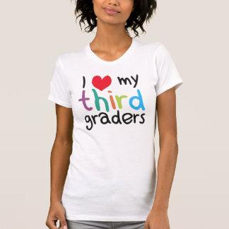 T-shirt I coeur mon troisième amour de professeur de