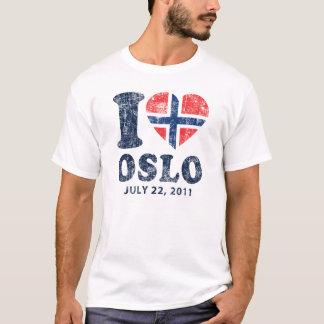T-shirt I coeur Oslo