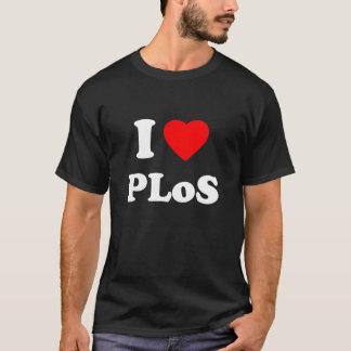 T-shirt I coeur PLoS