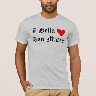 T-shirt I coeur San Mateo de Hella