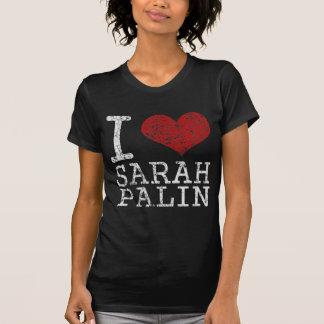 T-shirt I coeur Sarah Palin