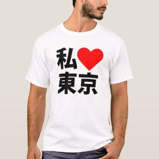 T-shirt i coeur Tokyo