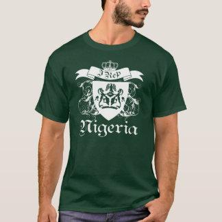 T-shirt I conception du représentant Naija avec le manteau