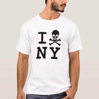 T-shirt I (crâne et os croisés) NY