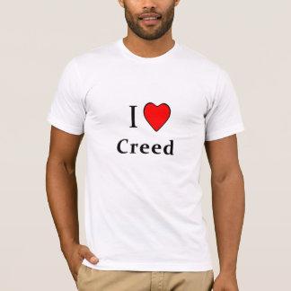 T-shirt I croyance de coeur