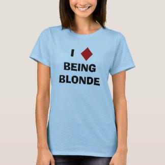 T-shirt I diamant étant blond