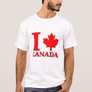 T-shirt I fierté de Canadien de chemise du Canada de