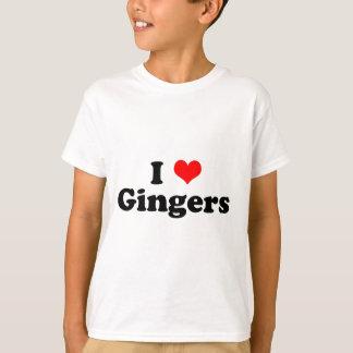 T-shirt I gingembres de coeur
