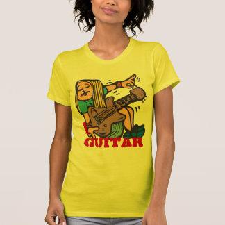 T-shirt I guitare - guitare de accord de guitariste de