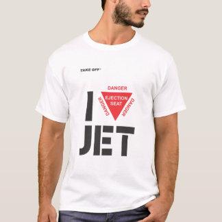 T-shirt I Jet love