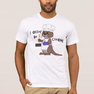 T-shirt I la loutre fasse cuire
