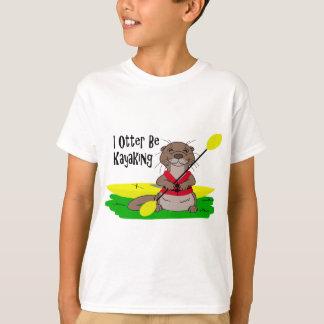 T-shirt I la loutre Kayaking