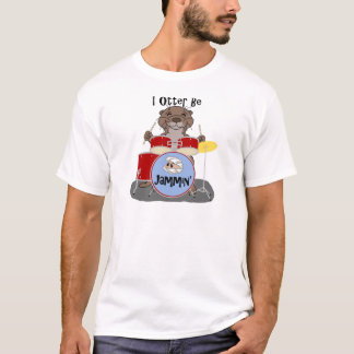 T-shirt I la loutre soit Jammin