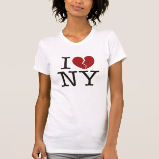 T-shirt I [le coeur brisé] NY