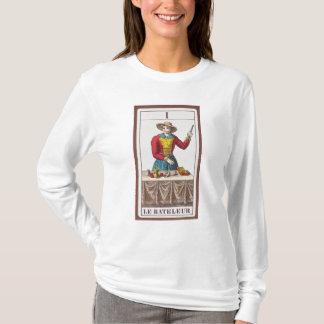 T-shirt I le magicien, sept cartes de tarot
