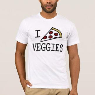 T-shirt I légume de pizza