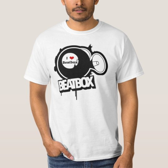 T-shirt I love beatbox