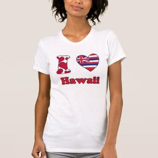 T-shirt I love Hawaii