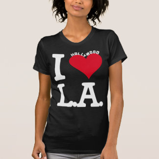 T-SHIRT I LOVE LOS ANGELES HOLLYWOOD EDITION