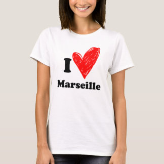 T-shirt I love Marseille