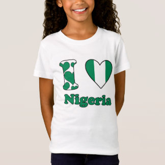 T-Shirt I love nigéria