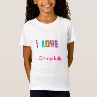 T-Shirt i love ohmydollz
