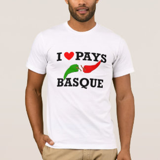 T-SHIRT I LOVE PAYS BASQUE