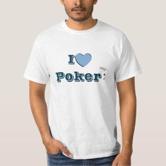 T-shirt I Love Poker T Shirt