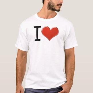 T-shirt I Love souvenirs