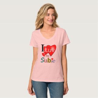 T-shirt I Luv MON Subie