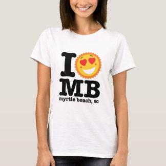 T-shirt I mb de coeur