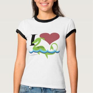 T-shirt I Nessie de coeur